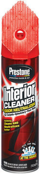 Prestone AS345 - Interior Cleaner Appearance Products 18 Oz Aerosol Can