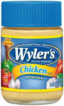 Wyler's® Chicken Flavor Instant Bouillon Powder 2.25 oz. Jar