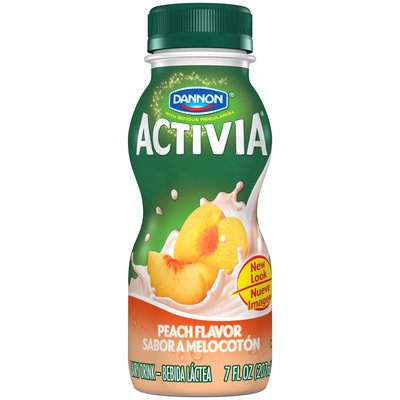 Activia Drinks 7 Fl Oz Ss Peach