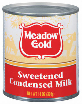 Meadow Gold Sweetened Condensed Milk 14 Oz Can