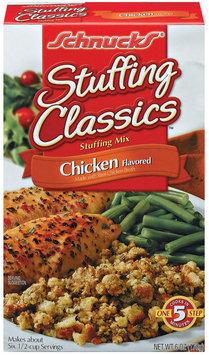 Schnucks Stuffing Classics Chicken Flavored Stuffing Mix 6 Oz Box