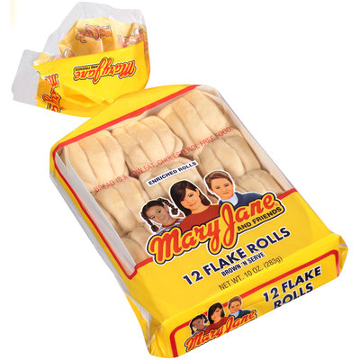 Mary Jane and Friends® Brown 'N Serve Flake Rolls 12 ct Bag