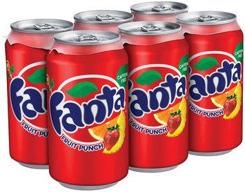 Fanta Fruit Punch Soda 12 oz Can