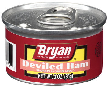 Bryan Smoke Flavoring Added Deviled Ham 3 Oz Pull-Top Can