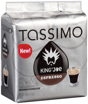 Tassimo King of Joe Espresso Coffee T Discs 16 ct. Bag