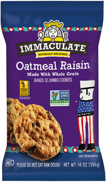 Immaculate® Oatmeal Raisin Cookies 12 ct Pack