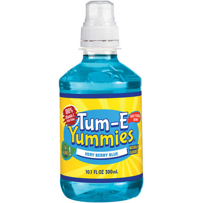 Tum-E Yummies® Very Berry Blue Fruit Flavored Drink 10.1 fl. oz. Bottle