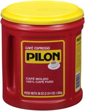 Cafe Pilon® Espresso Ground Coffee 36 oz. Canister