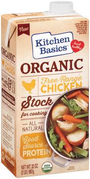 Kitchen Basics® Organic Free-Range Chicken Cooking Stock 32 oz. Aseptic Pack