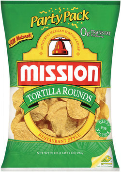 Party Pack Mission Tortilla Rounds 28 oz Bag