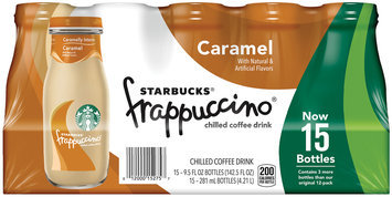 Starbucks® Frappuccino® Caramel Chilled Coffee Drink 15-9.5 fl. oz. Bottles