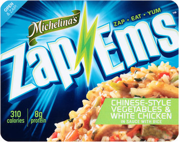 Michelina's® Zap 'Ems™ Chinese-Style Vegetables & White Chicken in Sauce with Rice 7.5 oz. Tray