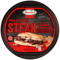 Hormel® Philly Style Steak with Sauteed Peppers 14 oz. Tub