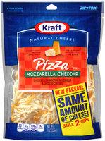 Kraft Pizza Style Shredded Mozzarella Cheddar Cheese 8 oz. Pouch