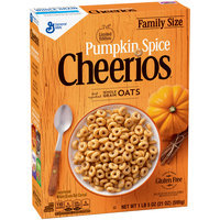 Cheerios Limited Edition Pumpkin Spice Cereal