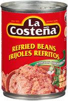 La Costena® Refried Beans with Chicharron 20.5 oz. Can