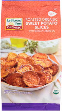 Earthbound Farm® Roasted Organic Sweet Potato Slices 20 oz. Bag