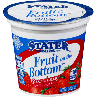 Stater® Bros. Fruit on the Bottom Strawberry 6 oz. Cup