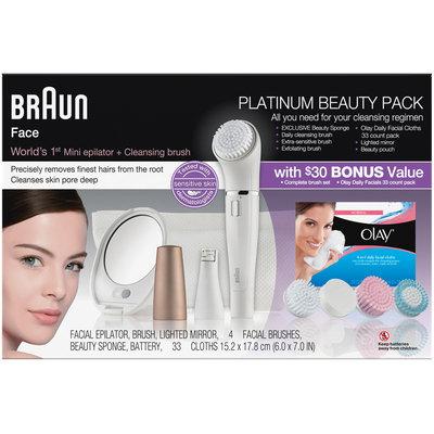 Mixed Braun Face Platinum Beauty Pack with $30 Bonus Value