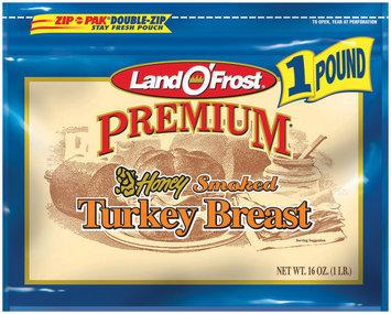 Land O' Frost Premium Premium Honey Smoked Turkey Breast 16 Oz Zip Pak