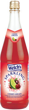 Welch's® Sparkling Cherry Limeade Juice Cocktail 25.4 fl. oz. Glass Bottle