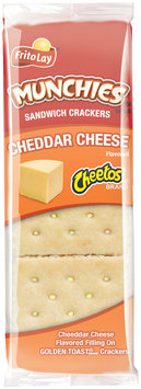 Munchies® Cheetos® Cheddar Cheese Sandwich Crackers 1.38 oz. Pack
