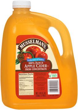 Musselman's® 100% Juice Apple Cider 128 fl. oz. Jug