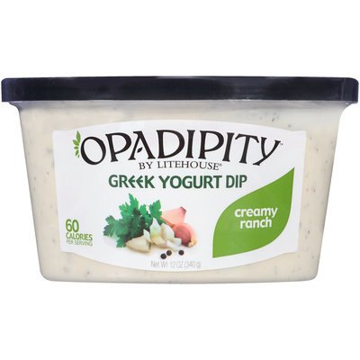 Opadipity™ by Litehouse® Creamy Ranch Greek Yogurt Dip 12 oz. Tub