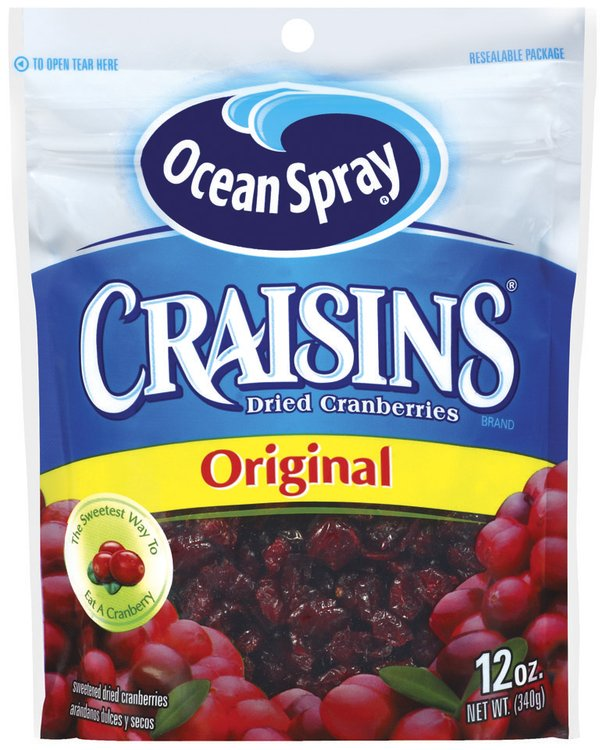 Craisins Original Dried Cranberries 12 Oz Peg