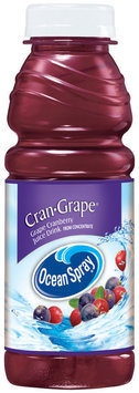 Ocean Spray Grape Cranberry Juice Drink   Plastic Bottle