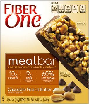 Fiber One Chocolate Peanut Butter Meal Bars