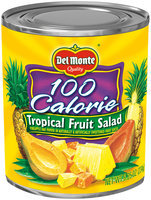 Del Monte® 100 Calorie Tropical Fruit Salad in Naturally & Artificially Sweetened Fruit Juices