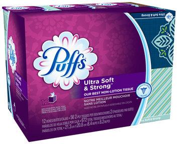 Puffs® Ultra Soft & Strong Facial Tissues