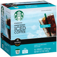 Starbucks® Sweetened Iced Coffee K-Cup®