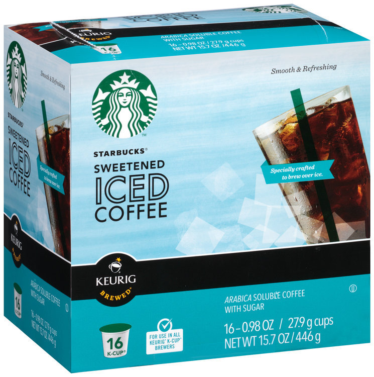 Starbucks Sweetened Iced Coffee K Cup