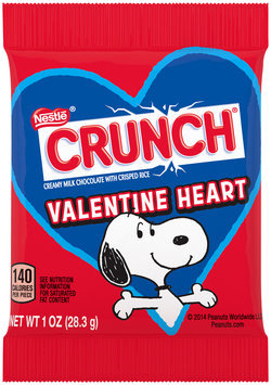 Nestlé CRUNCH Valentine Heart 1 oz