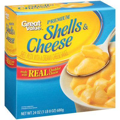 Great Value™ Shells & Cheese 24 oz. Box
