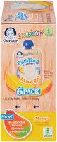 Gerber® Graduates® Mango Pudding Grabbers™ 6-3.5 oz. Pouches