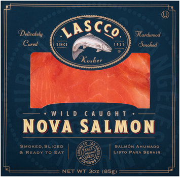 LASCCO® Wild Caught Nova Salmon 3 oz. Package