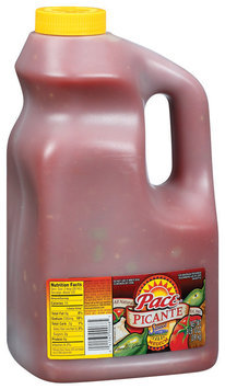 Pace Medium Picante Sauce 138 Oz Jug
