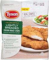 Tyson® Italian Style Lightly Breaded Chicken Breast Strips 24 oz. Bag
