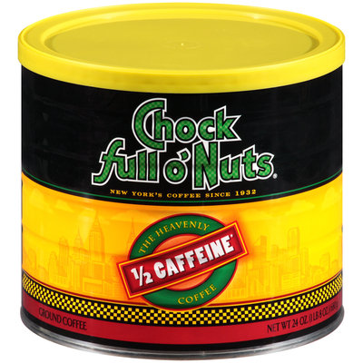 Chock Full O'Nuts® 1/2 Caffeine Coffee