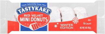 Tastykake® Red Velvet Mini Donuts 3 oz. Pack
