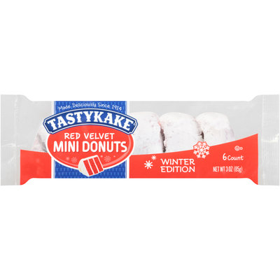 Tastykake® Red Velvet Mini Donuts