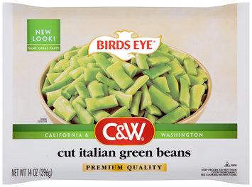 Birds Eye® C&W® Cut Italian Green Beans 14 oz. Bag