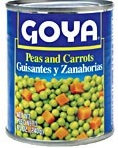 Goya Peas and Carrots Can Vegetables