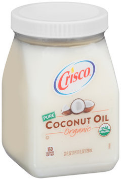 Crisco® Pure Organic Coconut Oil 27 fl. oz. Jar