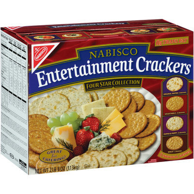 Nabisco Four Star Collection Entertainment Crackers 40 oz. Box
