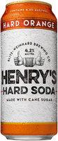 Henry's Hard Soda™ Hard Orange 16 fl. oz. Can