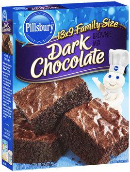 Pillsbury® Dark Chocolate Brownie Mix 19.5 oz. Box